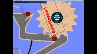 Algodoo Marble Run/CD Machine [HD]