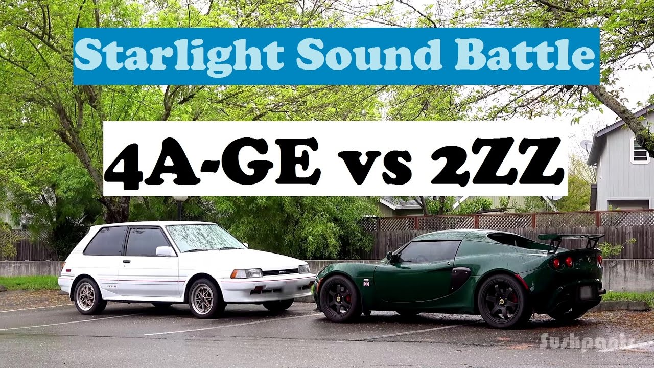 Starlight Sound Battle: 4A-GE vs 2ZZ Which one sounds better?
