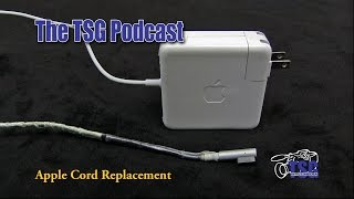 Apple 85W Power Supply Repair Cord Replacement 7-1-15 Podcast