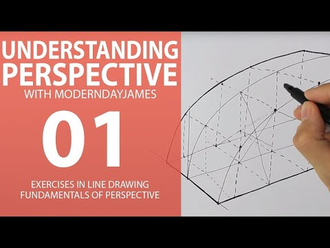 PERSPECTIVE BASICS I: One, Two, and Three Point Perspective