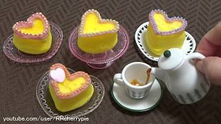 BANDAI パティシエキッチン Heart shaped cake