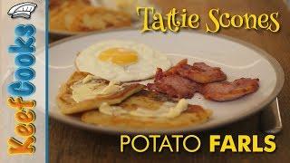 Tattie Scones | Potato Farls | Potato Bread