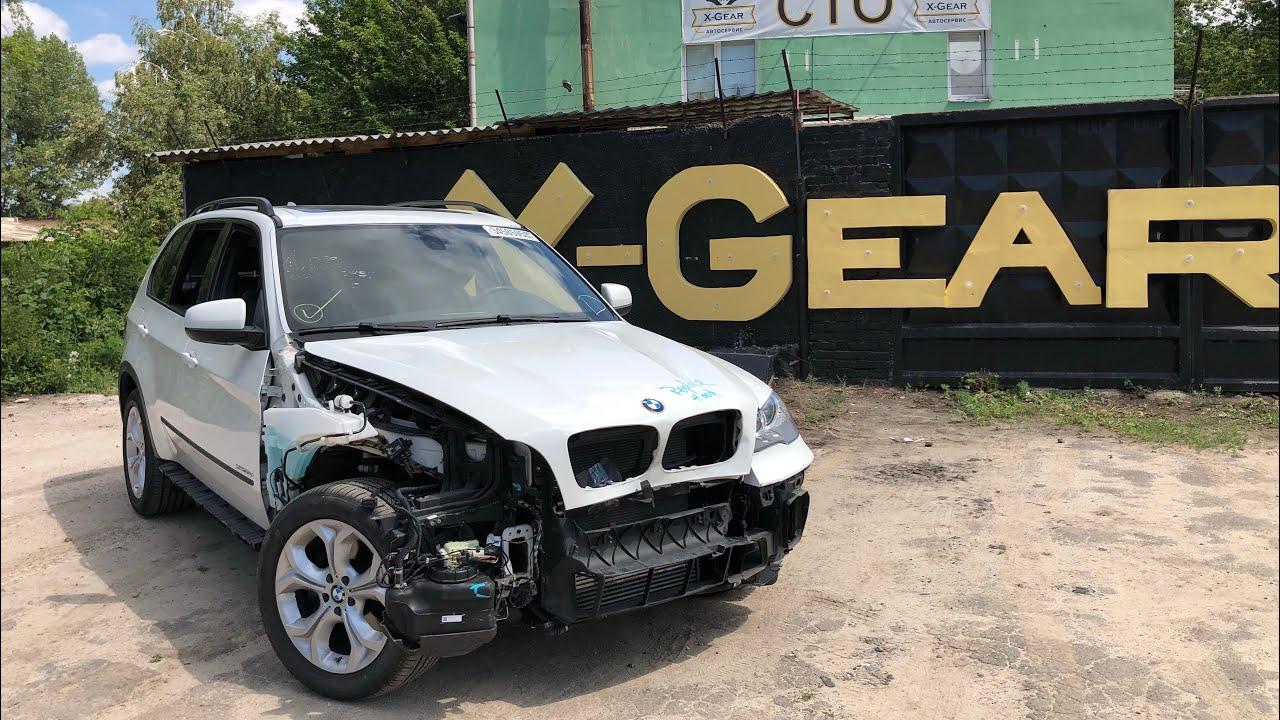 """BMW X5 e70 дизель из США. Маленький пробег и """"сладкая"""" цена. В Европе такой не найти."""