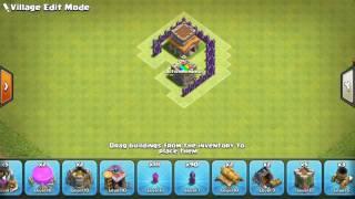 Clash of clans TH 8 base anti 3 star