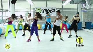"Zumba Primer Flash Mob en Chile cancion: ""Sube las manos pa`arriba"""