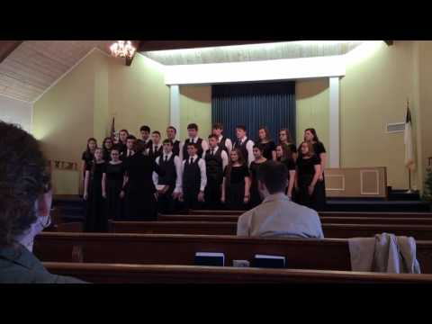 Witness by Tuscaloosa Christian School's Choral Group.