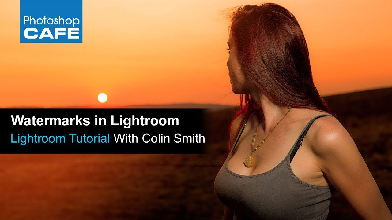 how to delete watermarks in lightroom