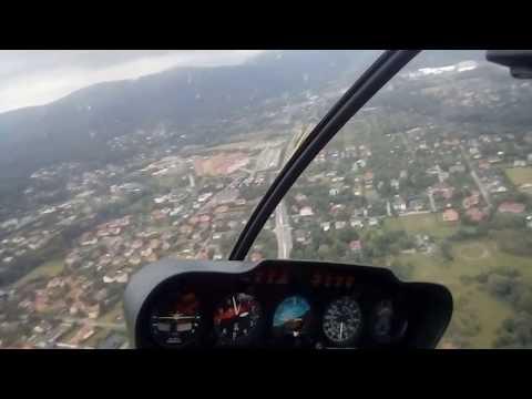 Piknik lotniczy 2017 Bielsko-Biała widok z helikoptera