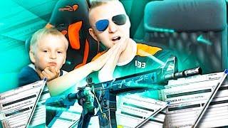 MÓJ BRAT ROBI KONTRAKT NA M4A4| POSEIDON! TO JEST NIEMOŻLIWE! - CSGO