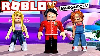 I BECOME A SEXY PRINCE in ROBLOX FASHION FAMOUS 😍😂