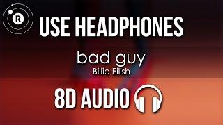 Baixar Billie Eilish - bad guy (8D AUDIO)