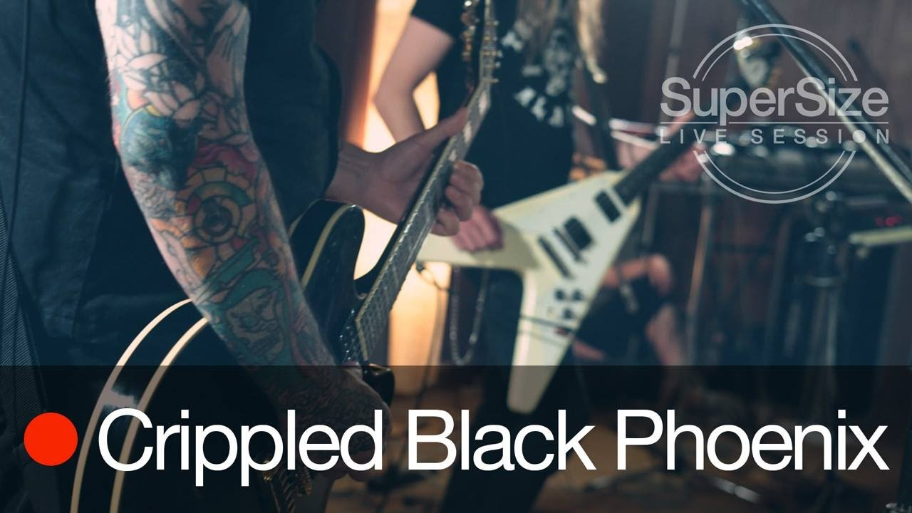 Download SuperSize Live Session - Crippled Black Phoenix (Full Session)