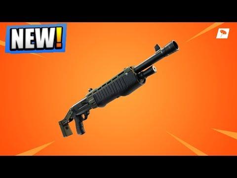 Legendary PUMP SHOTGUN GAMEPLAY! NEW Fortnite UPDATE! (Fortnite Battle Royale LIVE)