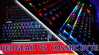 BUDGET MECHANICAL KEYBOARD COSMIC BYTE GK 03 Review | Redgear MK 881 VS Cosmic byte gk 03