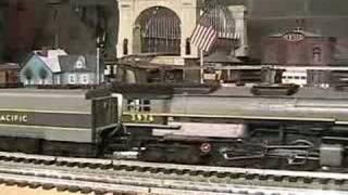mth premier up challenger 4 6 6 4 o gauge steam locomotive