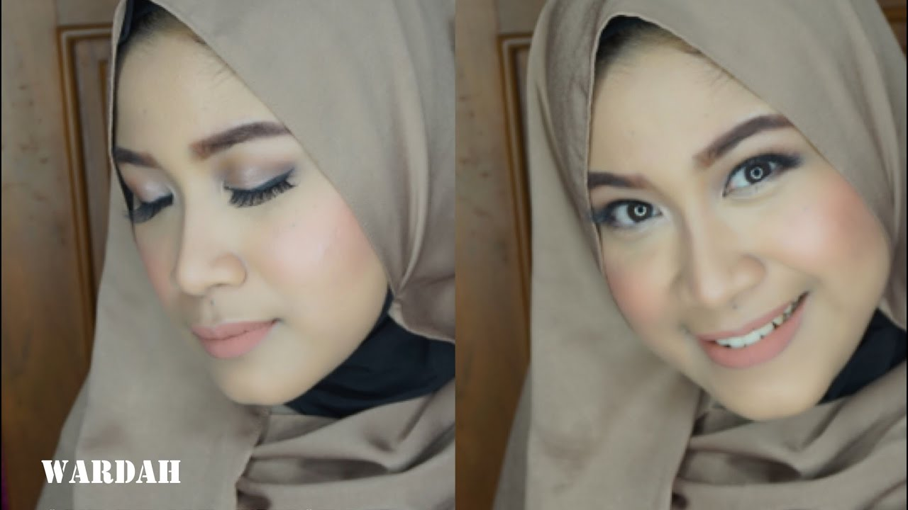 Tutorial Make Up Natural Hijab Wardah | Saubhaya Makeup