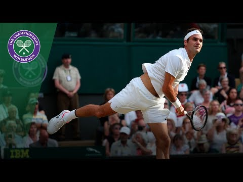 Roger Federer v Dusan Lajovic highlights - Wimbledon 2017 second round