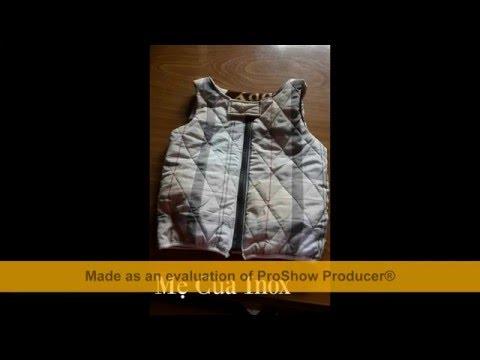 Hướng dẫn may áo gile cho bé - Mẹ Của Inox