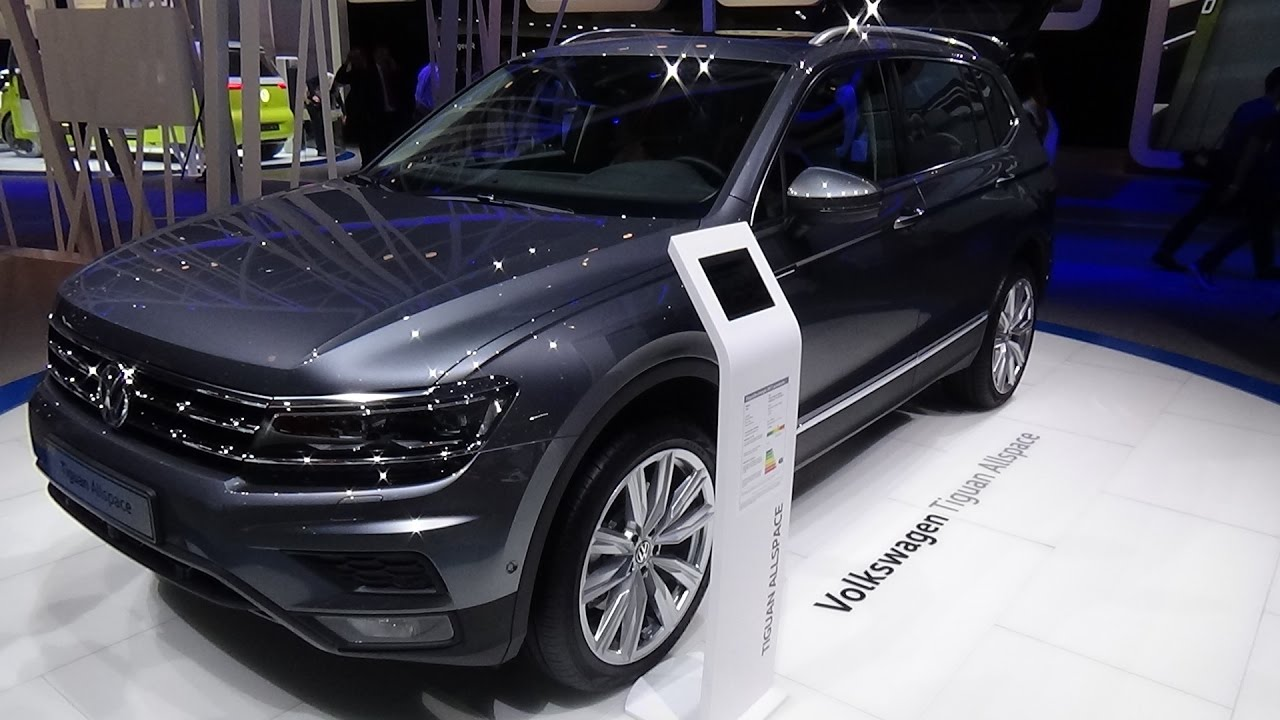 2018 volkswagen tiguan allspace offroad 4motion exterior. Black Bedroom Furniture Sets. Home Design Ideas