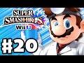 Super Smash Bros. Wii U - Gameplay Walkthrough Part 20 - Dr. Mario! (Nintendo Wii U Gameplay)