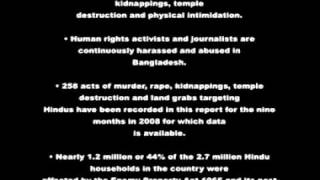 NO HINDU HUMAN RIGHTS IN BANGLADESH - WHERE IS THE MUSLIM FATWA_.flv