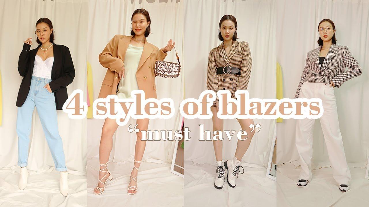 Blazers เสื้อสูท 4 แบบ 4 สไตล์ ที่ต้องมี! ติดตู้เสื้อผ้า | pairyinwonderland