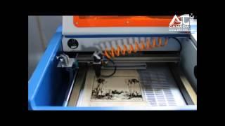 CO2 Laser Engraving Machine --Wood Cutting 130041