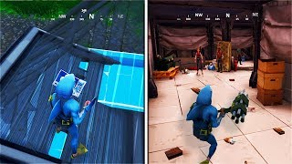 i used the Pyramid Glitch to enter the Bunker in Fortnite: Battle Royale (BUNKER MYSTERY SOLVED!)