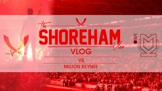 Sheffield United VS MK Away - Shoreham View Vlog