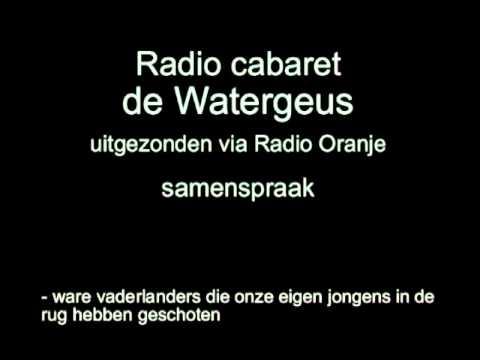 Radio Cabaret De Watergeus, afl 5 - Och m'n Adolf wou gaan varen & Telegrammen
