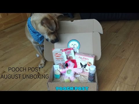 POOCH POST || AUGUST UNBOXING || StaffieGirlLola