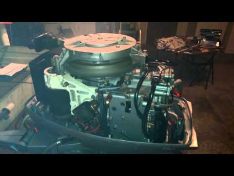 Steve's 1975 Evinrude 40 HP Restore Part 1 - Cleaning and Assessing