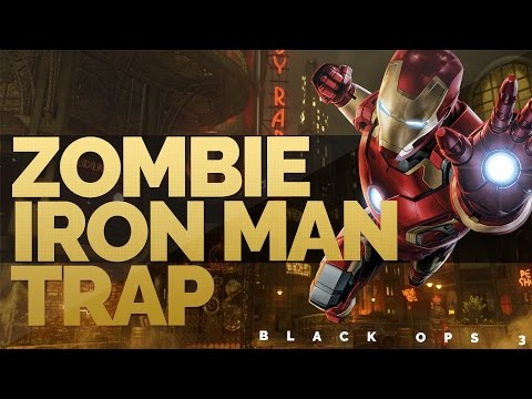 "BLACK OPS 3 ZOMBIES"" IRON MAN TRAP / MAN TRAP ZOMBIE TRAP - FLYING MAN ""SHADOW OF EVIL"""