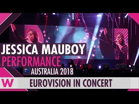 "Jessica Mauboy ""We Got Love"" (Australia 2018) LIVE @ Eurovision in Concert 2018"