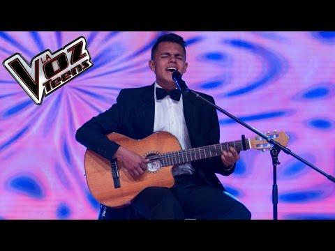 Alejandro Canta 'Obsesión' | Audiciones A Ciegas | La Voz Teens Colombia 2016