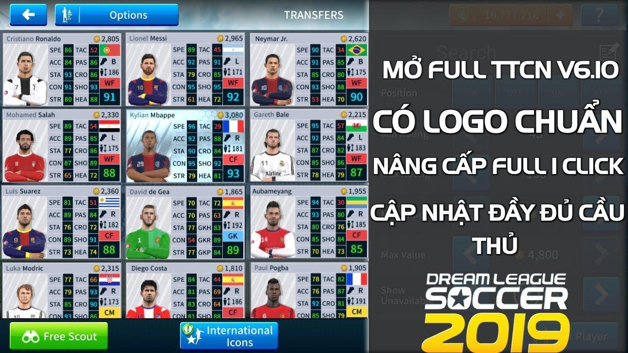 CTM | Hướng dẫn tải bản MOD Dream League Soccer 2020 Full chức năng V6.10