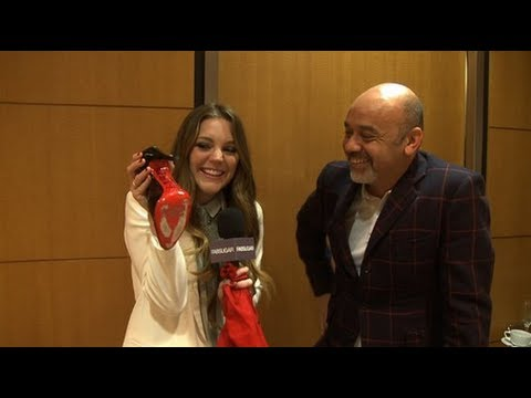 Christian Louboutin Dishes About Designing For Showgirls and His Trapeze Talent!