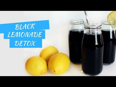 Black Magic Lemonade Detox Drink