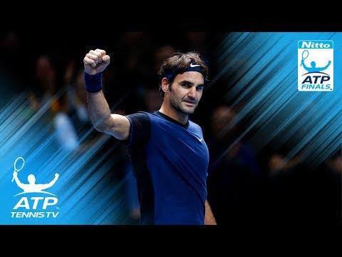 Top 10 Roger Federer Shots & Rallies: ATP Finals