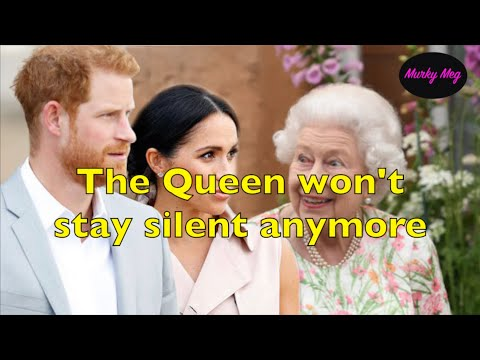 The Queen fights back and ditches 'Never complain, never explain' policy becasue of Harry & Meghan