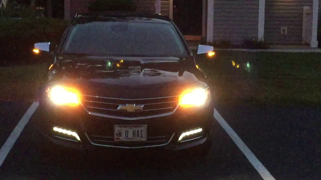 2017 Chevy Impala Ltz Led Turn Sigs Tail Reverse Lic Plate