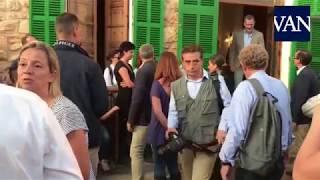 Los Reyes visitan Sant Llorenç des Cardassar tras la catástrofe