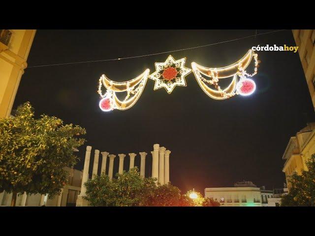 Ambiente navideño en las puertas de la Navidad