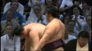 遠藤、13日目に新十両での優勝 endo tochinowaka sumo 大相撲.