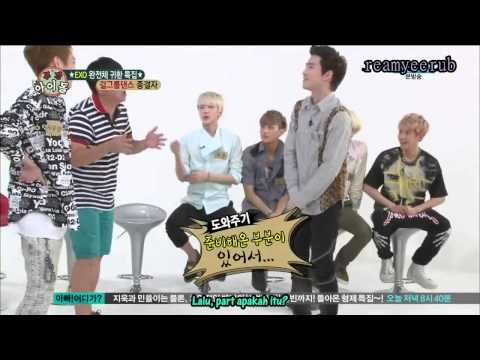 [Indo Sub] HD 130814 EXO Weekly Idol Ep 108 Part4