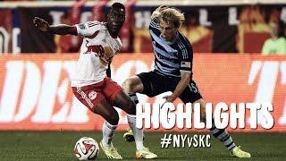 HIGHLIGHTS: New York Red Bulls vs. Sporting Kansas City | September 6, 2014