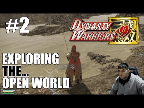 Dynasty Warriors 9 Wu Story Mode - Sun Jian - Chapter 2 Episode 1 - Messing around in the open world