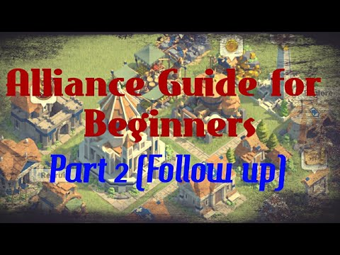Rise of Civilizations -Alliance Guide Part 2 Alliance Resources [Beginner's Guide]
