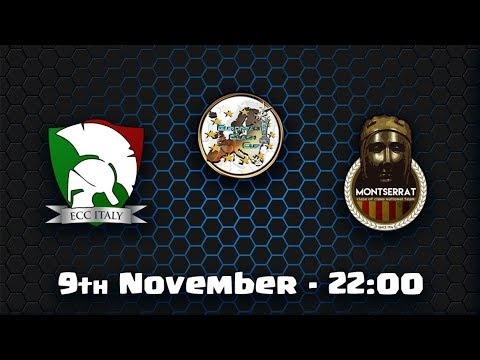 🔴ECC ITALY vs ECC MONTSERRAT  European Clash Cup Clash of Cl