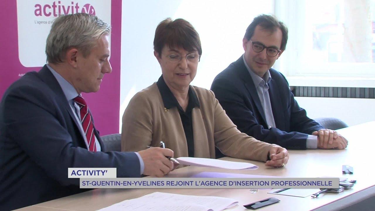 Yvelines | ActivitY' : Saint-Quentin-en-Yvelines rejoint l'agence d'insertion professionnelle